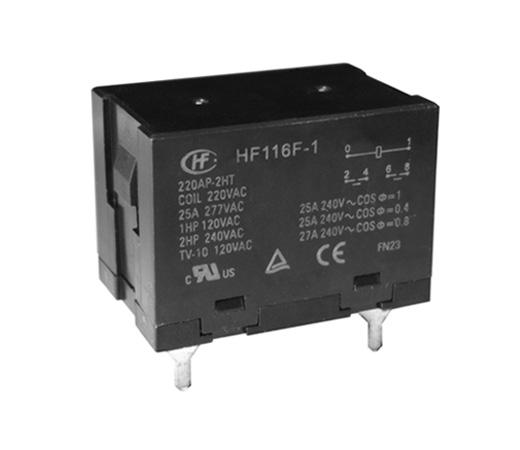 Hongfa HF116F-1/230AF-2HTFW (45285101693)