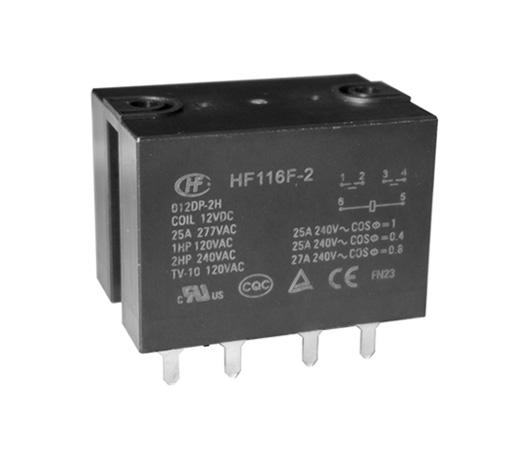 Hongfa HF116F-2/006DP-2HSTW (45285101520)